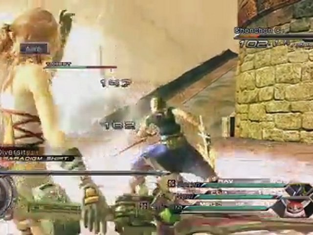 "FINAL FANTASY XIII-2 ""Characters"" Trailer"