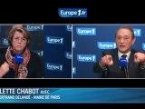 """Bertrand Delanoë : Sarkozy est """"hyper réactionnaire"""""""