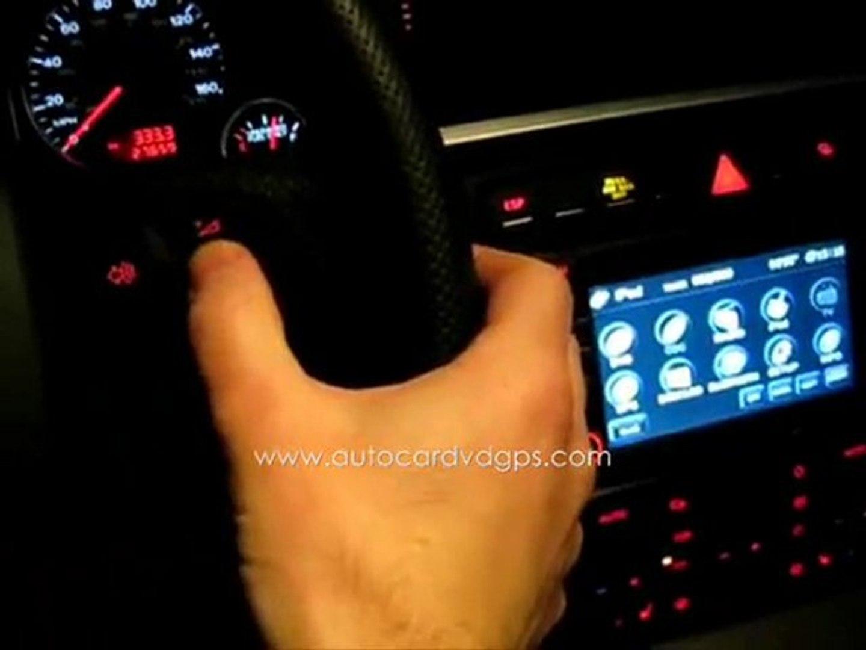 Autocardvdgps audi a4- flyaudio all-in-one gps -7531 navi -presentation 3.avi  www.autocardvdgps