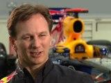 F1 Red Bull Racing 2012 - Car Launch - Segment - Interview Christian Horner
