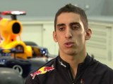 F1 Red Bull Racing 2012 - Car Launch - Segment - Interview Sebastien Buemi