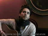 Jared Leto, l'interview accordage de guitare