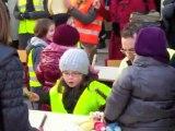Hazebrouck : manifestation contre la fermeture d'une classe à l'école Ferdinand-Buisson