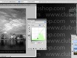 Formation Photoshop 12b par thierry Dambermont - tutorial en francais - Transformation d'images couleur en images grises (10 min + 6 min)