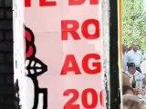 AGDE - 2006 - Discours politique Socialiste ROBERT  NAVARRO À LA FETE DU PS D'AGDE