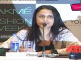 Lakme Fashion Week Summer Resort 2012 Press Conference