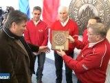 SNMSF inauguration médaille ENSM ENSA par David DOUILLET
