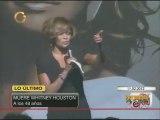 La cantante Whitney Houston falleció a los 48 años