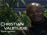 Christian Valetudie, athlète soutient François Hollande