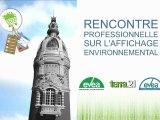 Rencontre Professionnelle - Affichage Environnemental - 26 janvier Lieu Unique