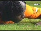 VIDEO CAN 2012 Finale Côte d'ivoire vs Zambie: Drogba rate un pénalty