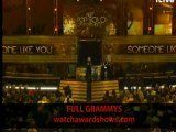 Adele acceptance speech Grammy Awards 2012
