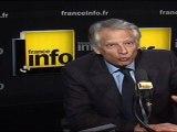 """Villepin : """"Le Front national, c'est se tirer une balle dans la tête"""""""