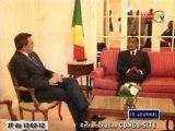 Le Chef de l'Etat s'entretien avec le ministre français des finances