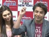 Ali Zafar and Aditi Rao Desperate To Promote London Paris New York - Bollywood Events