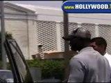 Djimon Hounsou Leaves Restaurant in Beverly Hills.