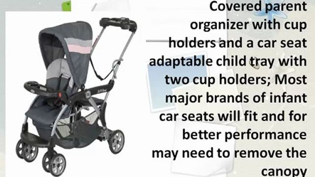 Baby Trend Sit And Stand Stroller - Baby Trend Sit N Stand Deluxe Stroller, Quartz