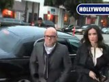 Demi Moore Arrives At STK