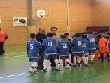 Présentation des équipes St Gaudens-PSC finale Foot en Salle U11 saison 2011-2012