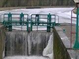 HIVER 2012   SUR LE CANAL DE LA SAMBRE A L'OISE ET DE LA RIVIERE OISE