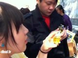 Tortue porte-clefs en Chine