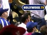 Jon Gosselin Goes To Dodger Stadium