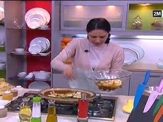 Choumicha - Tajine de Sardines et pain avoine