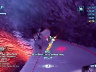 Gameplay Trailer 2 de SSX