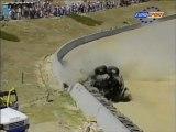 CART Laguna Seca 1996 Huge crash Johansson
