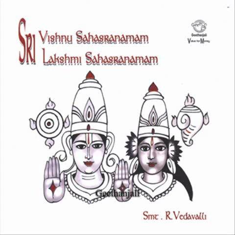 Sri Vishnu Sahasranamam  — Smr.R.Vedavalli — Sanskrit Spiritual