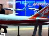 Aéronautique : Visite guidée du Salon de Singapour 2012