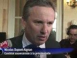 Annonce de la candidature Sarkozy: réactions à l'Assemblée