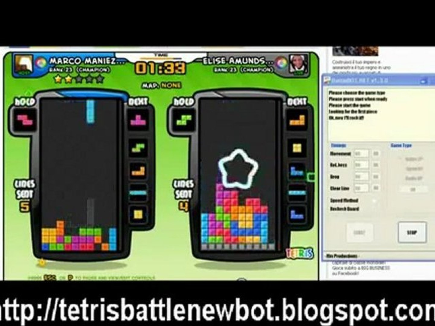 Facebook Tetris Battle BOT Hack n 2016 n 2017 FREE Download n Télécharger