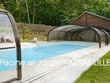 Abri piscine - Piscine et Jardin - Nord Pas-de-Calais Somme - Vente magasin Arras Lille d'Abris haut bas medium fixe télescopique