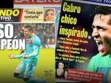 Deportes: Fútbol; Barcelona, Alexis, héroe en Chile y en Barcelona