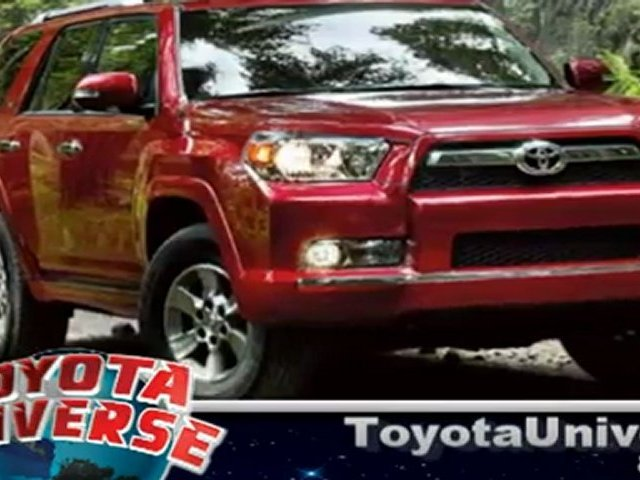 NJ Toyota dealer Toyota Universe presents the Toyota 4Runner