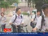 Tiếp tục đổi giờ học của học sinh Hà Nội