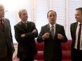 François Hollande s'adresse aux habitants de l'Yonne