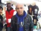Morsay Zehef Sambastos et un frero tape un freestyle de ouf a la boutique truand 2 la galere