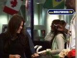 Lamar Odom And Khloe Kardashian At LAX International