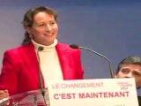 Ségolène Royal, discours de Chatellerault