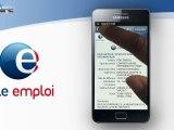 Application Pôle emploi pour smartphone iPhone et Android