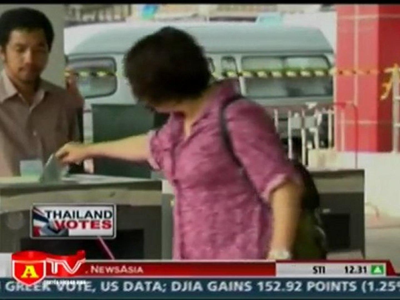 Thái Lan tăng cường an ninh trước thềm bầu cử