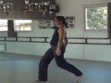 moderne chore art k danse sur musique  flamenco sarah moha essai 1