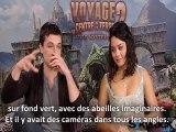 Interview Vanessa Hudgens et Josh Hutcherson [Voyage au centre de la Terre 2]
