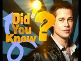 Unknown Facts About Brad Pitt - Hollywood Hot