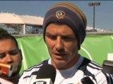 Beckham fa il tifo per Redknapp