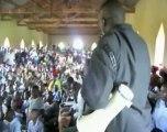 Uganda, Kakoro: Bednet distributions