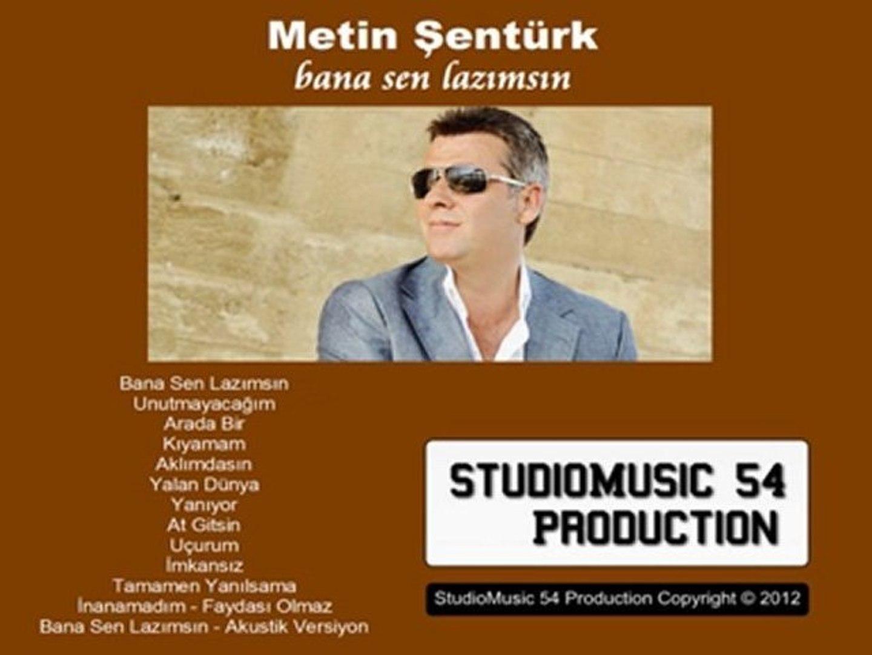 Metin Şentürk ''Faydası Olmaz'' 2012 YEP YENİ