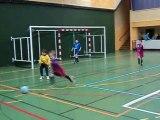 Tournoi en salle jeunes Pluvigner le 18 fevrier 2012  match u8 contre ploemel